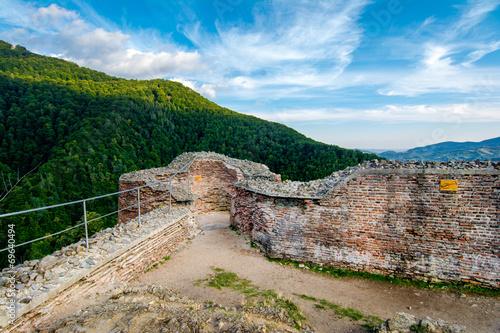 Papiers peints Fortification Poenari fortress, Romania