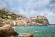 Fishing quarter of Scilla with Castello Ruffo, Calabria, Italy
