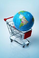 World in a shopping cart