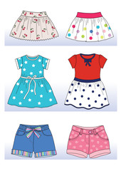 summer colection for little girl