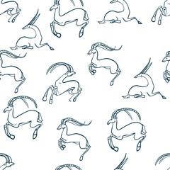 Текстура козы
