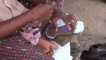 Indian shoesemaker