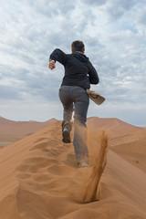 Corsa nel deserto