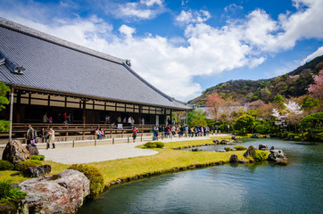 Shoin (Drawing Hall) of Tenryuji temple.