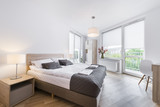 Modern and comfortable bedroom interior design