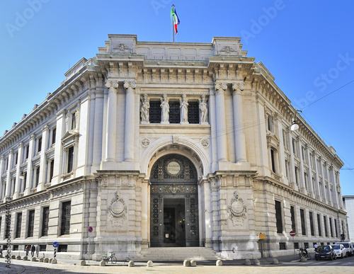 Milano palazzo della Banca d'Italia