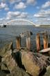 Aggersund bridge in Denmark