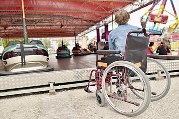 vie en fauteuil roulant