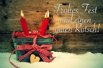 Frohes Fest und einen guten Rutsch!
