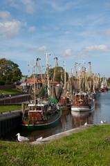 Hafen in Greetsiel - Krabbenkutter