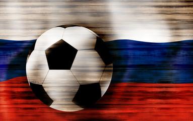 2018 Russia Flag Design
