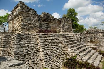 ancient pyramid ruins