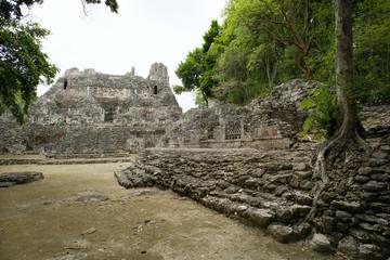 pre classic Mayan ruins