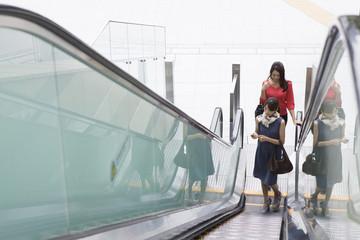 Women escalators