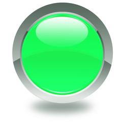bouton vert anis étoilé