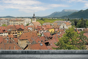 Annecy cityscape