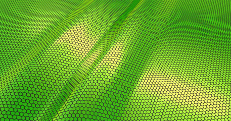 green metal abstract background