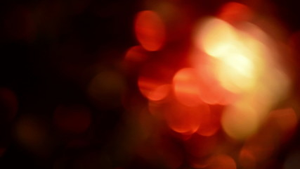 Red, blurred, bokeh lights background-1080p loop