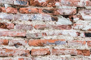 crack brick wall