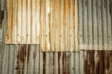 zinc texture - rusty
