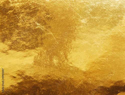 Foto op Canvas Metal gold