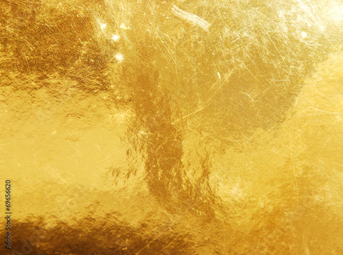 canvas print picture gold