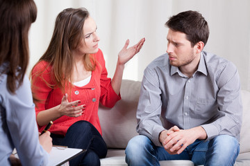 Marriage on psychotherapy session