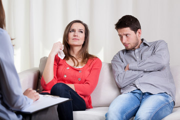 Young people on marriage therapy