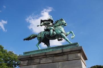 楠正成の銅像