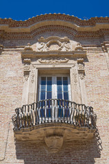 Franciscan monastery. San Severo. Puglia. Italy.