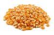 Dry popcorn