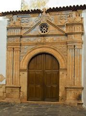 Pajara, Kirchenportal