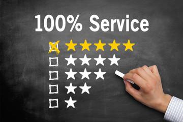 Servicequalität / Bewertung