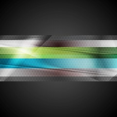 Abstract stripes technology background