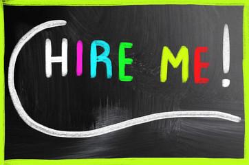 hire me concept