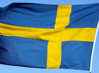 National flag of Sweden