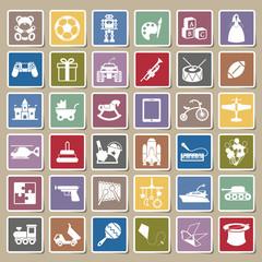Toys icon Sticker