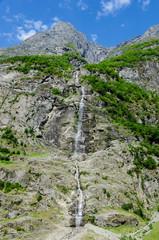 Fjord waterfall