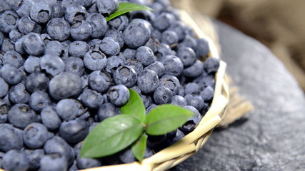Heap of fresh Blueberries (not loopable)