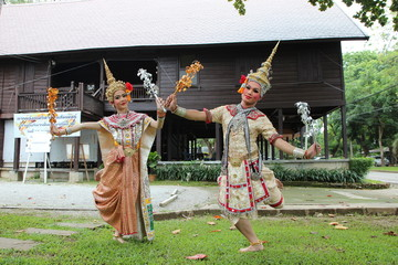 Thai Traditional Dance.