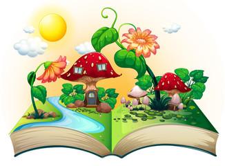 Mushroom house book