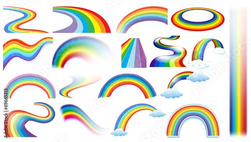 Rainbow set - 69665213