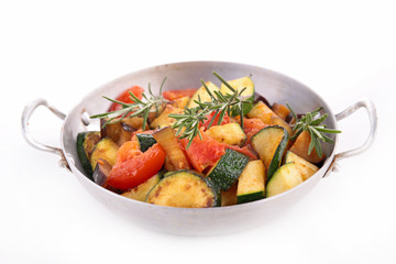 ratatouille, grilled vegetables
