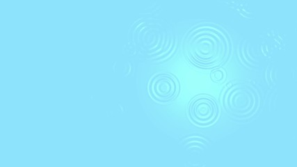 circles on the water background