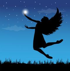 un angelo a caccia di stelle