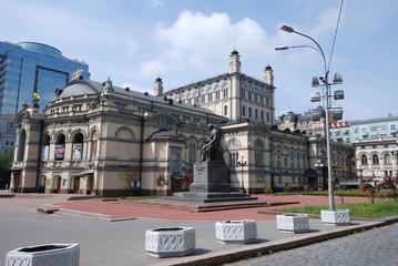 The Opera house. Kyiv. Ukraine.