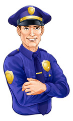 Policeman character