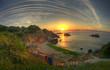 Sunrise on Rusalka resort