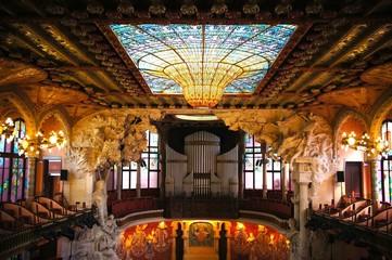 カタルーニャ音楽堂 スペイン バルセロナ