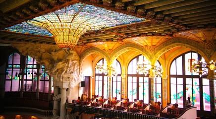 カタルーニャ音楽堂、メインホール